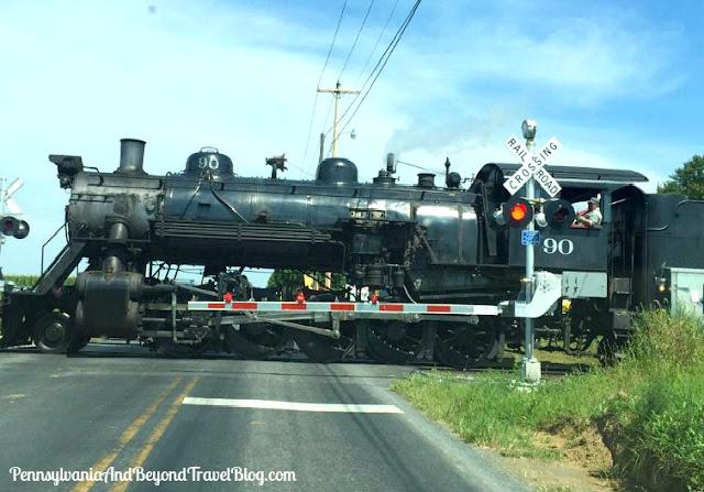 Strasburg Rail Road in Strasburg Lancaster County Pennsylvania