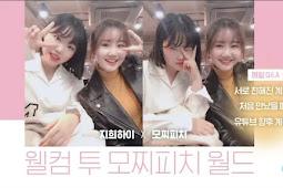 Watch : Suhyun Vlog Update 모찌피치가 지희하이를 만났을 때 ❤︎│MOCHIPEACH X JIHEEHI