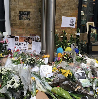 RIP Alan Rickman Kings Cross - Platform 9 and 3/4