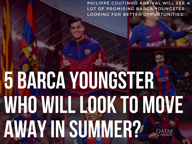 5 Barca Youngster who could push for a transfer next summer - AllAboutFCbarcelona.com