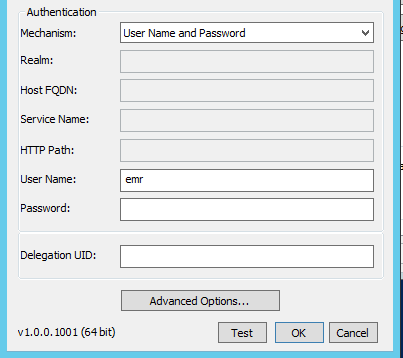 Setting up AWS EMR with Windows ODBC driver for Hive
