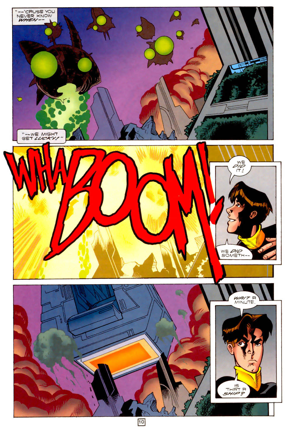 Legion of Super-Heroes (1989) 102 Page 10
