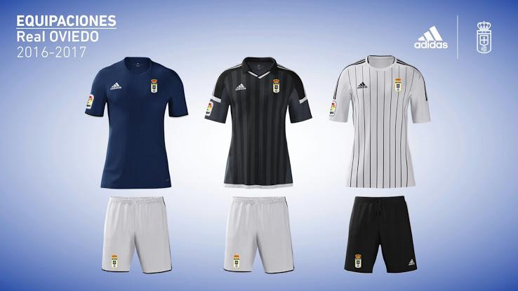 37f7148583 Camisas do Real Oviedo para a temporada 2016-17