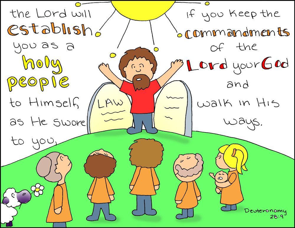 Doodle Through The Bible Deuteronomy 289 The Lord Will Establish