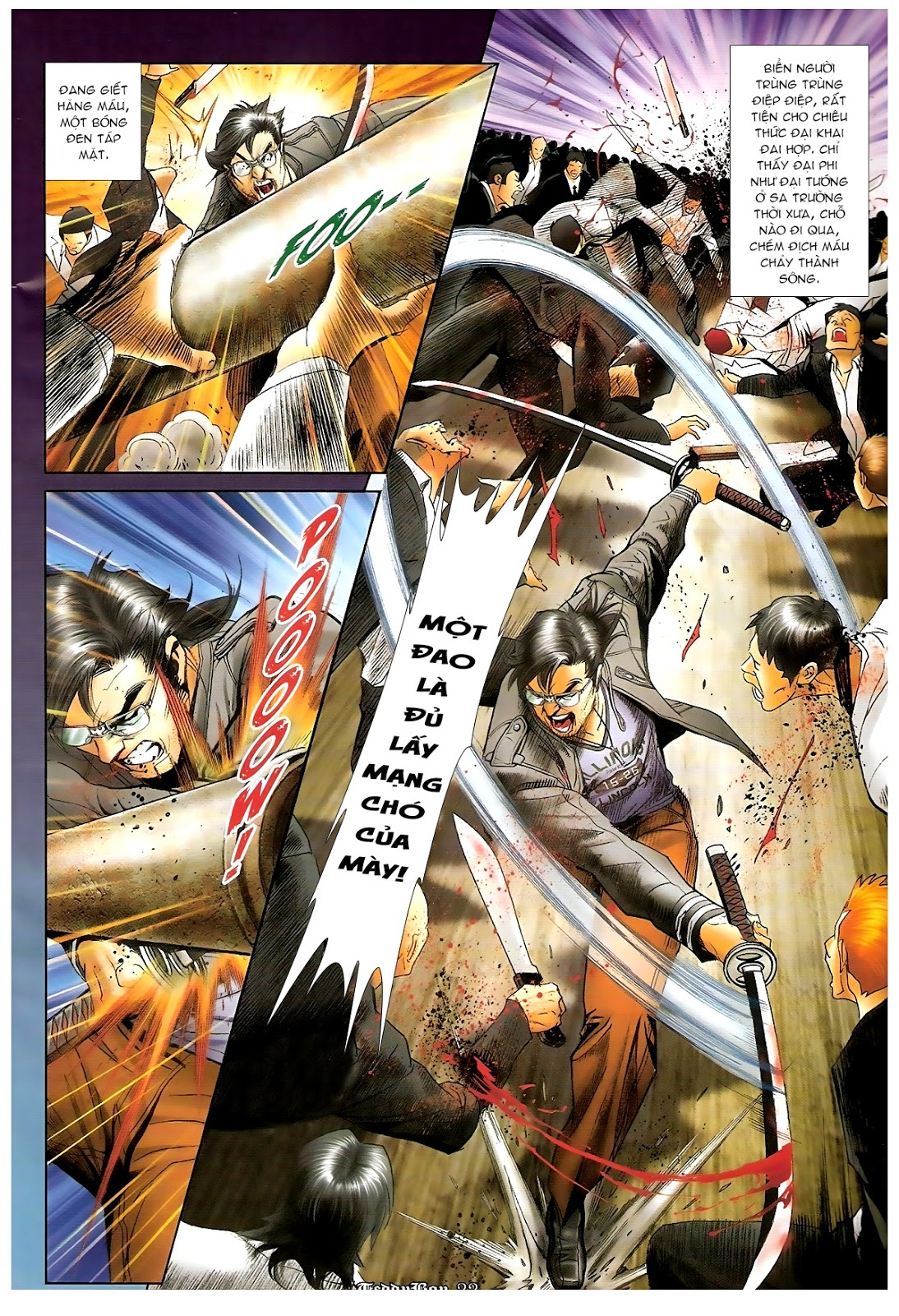 Người Trong Giang Hồ - Chapter 1220: Người đầu tiên lên đường - Pic 16