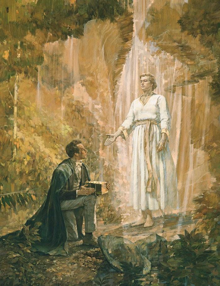 Joseph Smith und der Engel Moroni