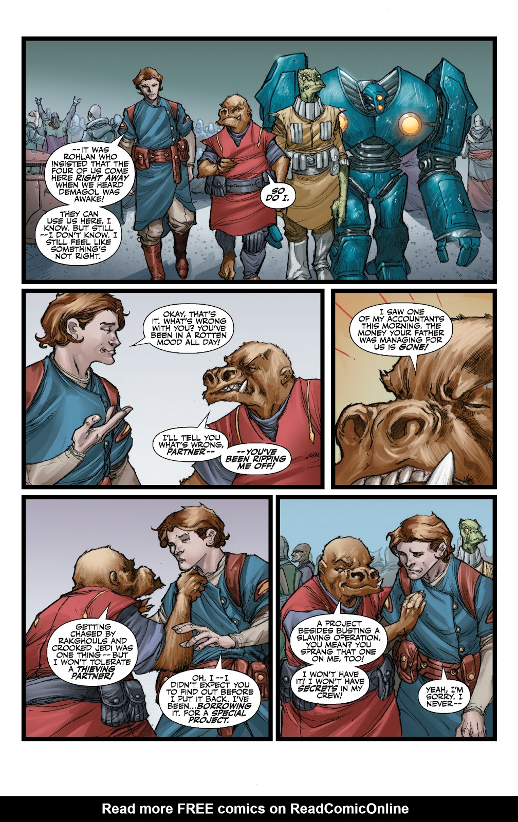 Read online Star Wars Legends: The Old Republic - Epic Collection comic -  Issue # TPB 3 (Part 3) - 17