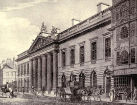 East India House from The Old East Indiamen by EK Chatterton (1914)