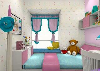 Koleksi Contoh Desain Kamar Tidur Anak Minimalis