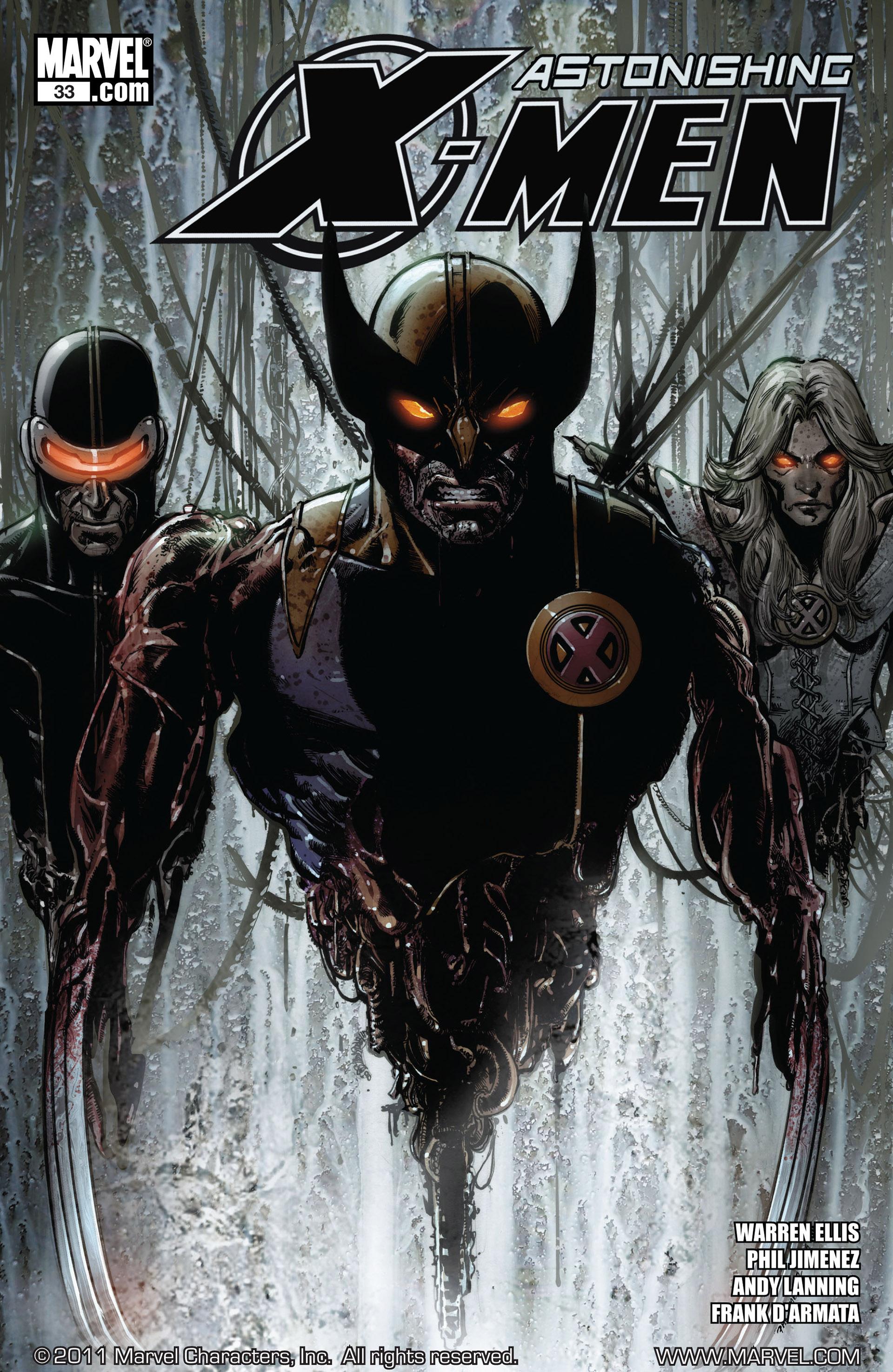 Read online Astonishing X-Men (2004) comic -  Issue #33 - 1
