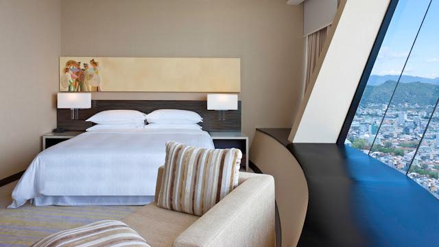 Phòng ngủ - khách sạn Sheraton Nha Trang