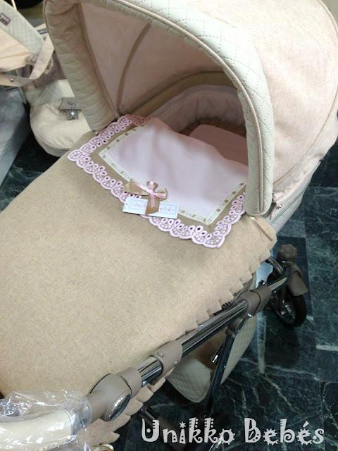 saco cuco bolsa camel rosa capazo Bytax