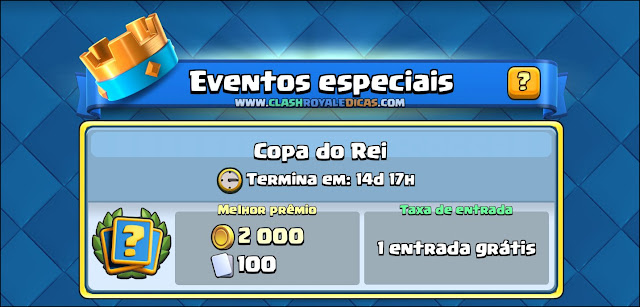 Sneak Peek #3 - Desafio de Evento especial: Copa do Rei - 2