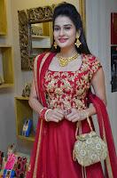 Jenny Honey in Stunning Dark Red Anarkali Dress at Splurge   Divalicious curtain raiser ~ Exclusive Celebrities Galleries 002.JPG