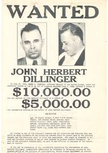 búsqueda John Dillinger. Chicago.