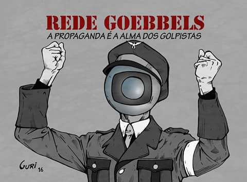 Resultado de imagem para Globo golpista
