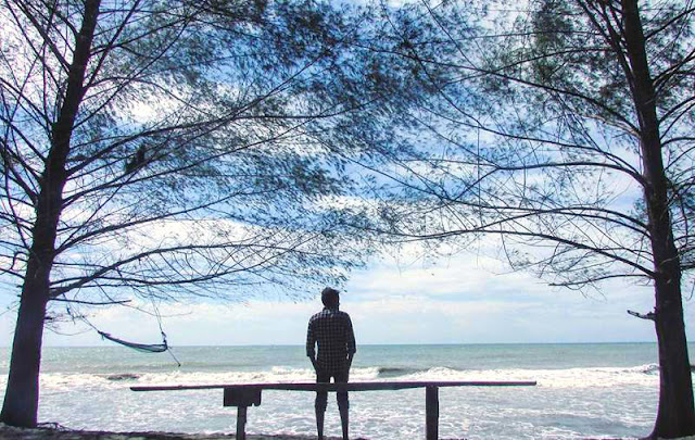 Gambar Pantai Pasir Jambak Di Sumatera Barat