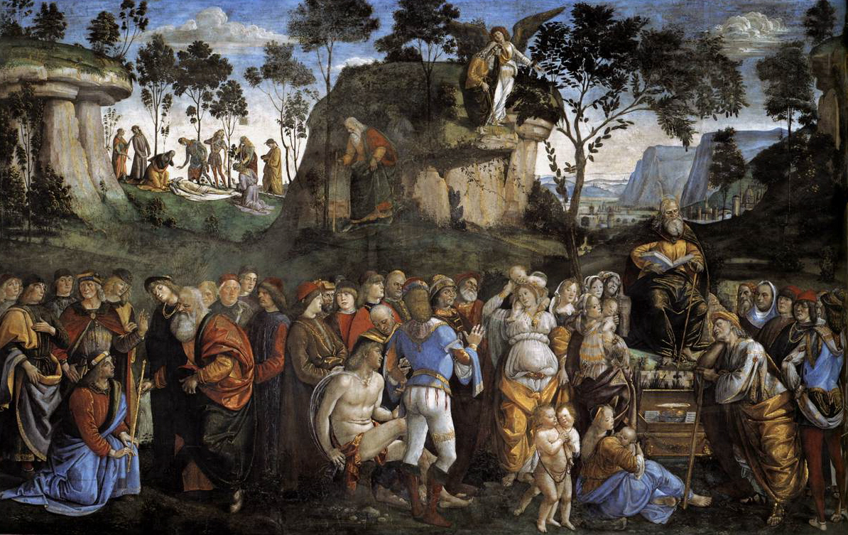 The Testament and Death of Moses, by Luca Signorelli