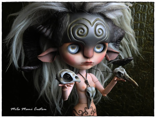"Winner of the contest ""Customize your Blythe"" -Blythecon Barcelona 2014-"