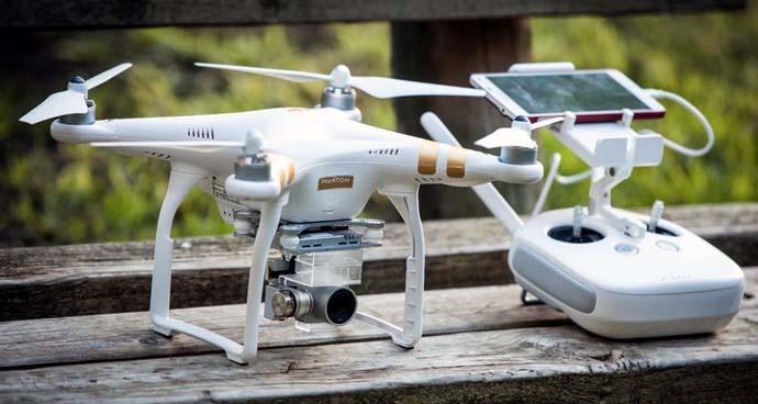 Drone Selfie Tebaik - DJI Phantom 3 Standard