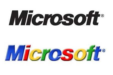 Funny Pictures Gallery: Microsoft logo, microsoft new logo