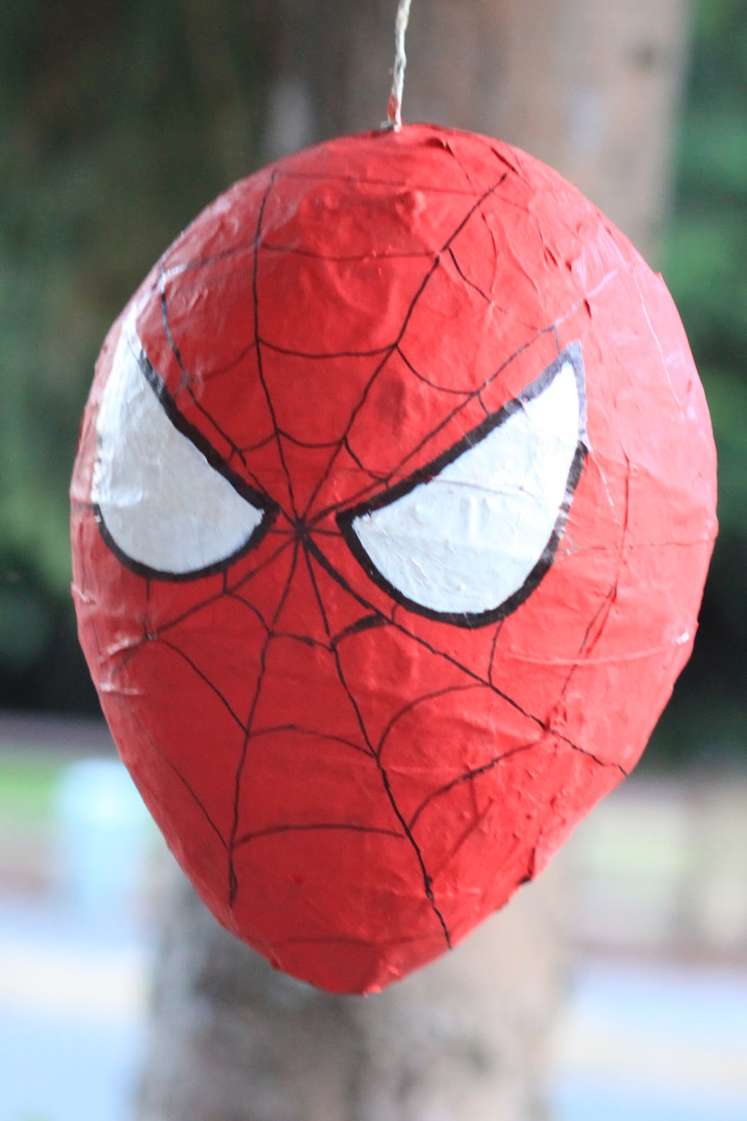 Spiderman Paper Craft With Mask