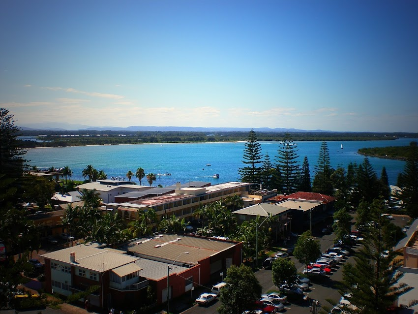 PORT MACQUARIE, NSW. SYDNEY ROAD TRIP, FIRST STOP