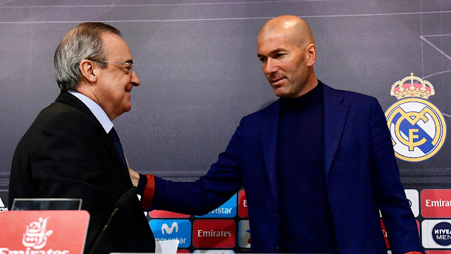 Zinedine Zidane mundur dari jabatannya di Real Madrid
