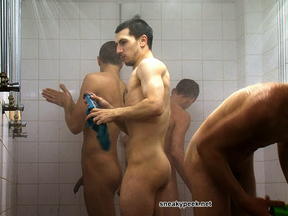 My Own Private Locker Room Spy Cambig Cocks In Tyhe Showers-1782