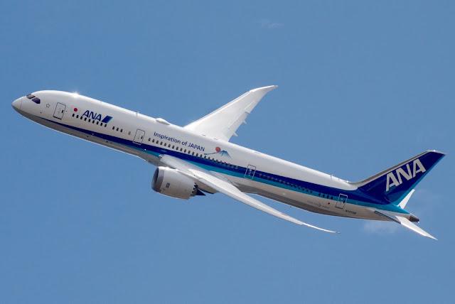 ANA Airlines N1015B Boeing 787 Dreamliner