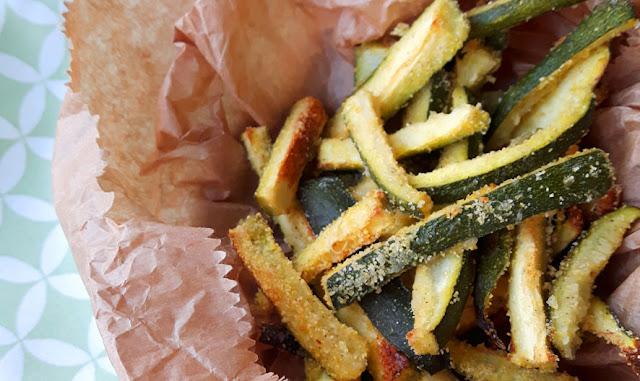 Zucchine nobili ovvero zucchine croccanti al forno