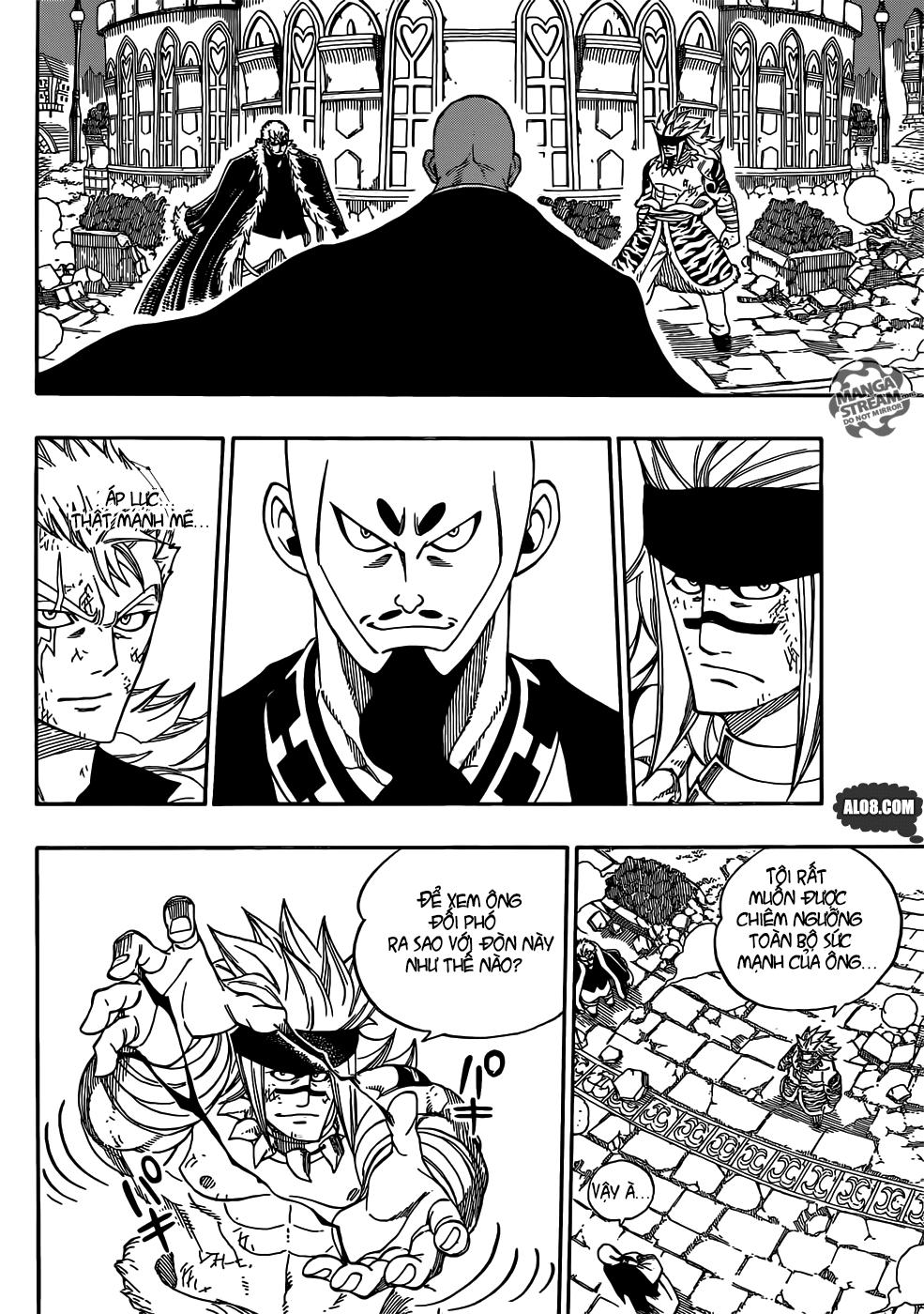 Fairy Tail chap 320 trang 8