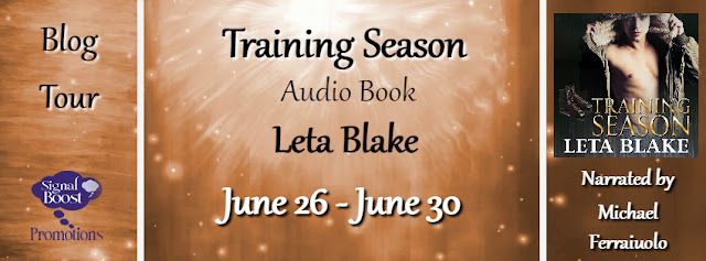 Blog Tour: Interview & Giveaway Training Season Audio Book by Leta Blake (Author) & Michael Ferraiuolo (Narrator)