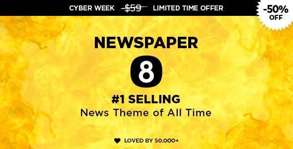 Newspaper v8.2 - Wordpress News Theme