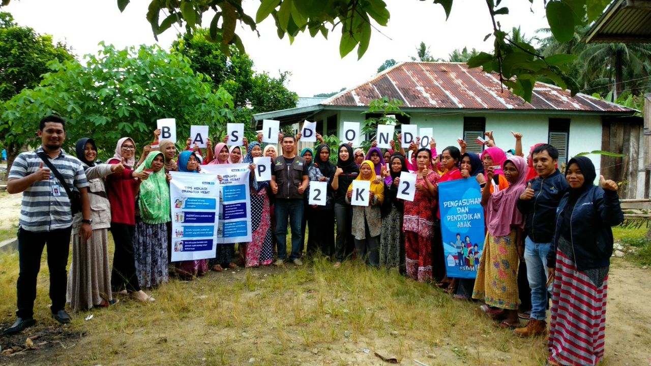 Laksanakan P2K2 di Desa Labonu, Pendamping PKH Ajarkan Cara Jadi Orang Tua Yang Baik