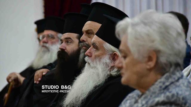 Ομιλία στην Ζόγκα Ελληνικού για τον Άγιο Πορφύριο τον Καυσοκαλυβίτη (βίντεο)