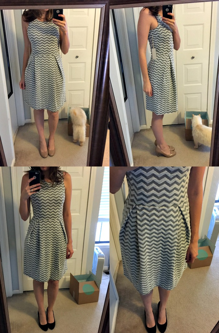 Stitch Fix 3 - 41Hawthorn Jace Chevron Print Dress