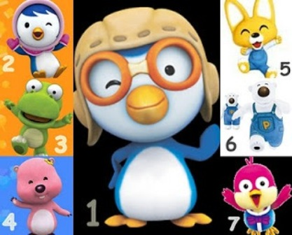 Gambar Kartun Pororo The