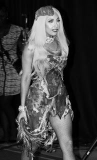 3a4c2a6f4e39b3 I believe Lady Gaga to be a shock value style setter with her bizarre use  of outfits like the above. But does she wear these outfits to ...