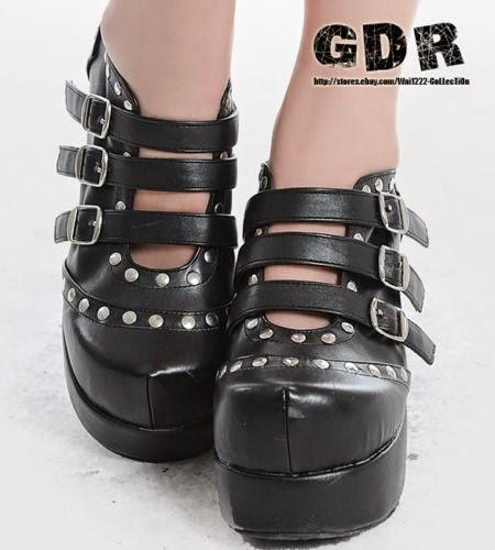Sapatos Góticos Sem Marca