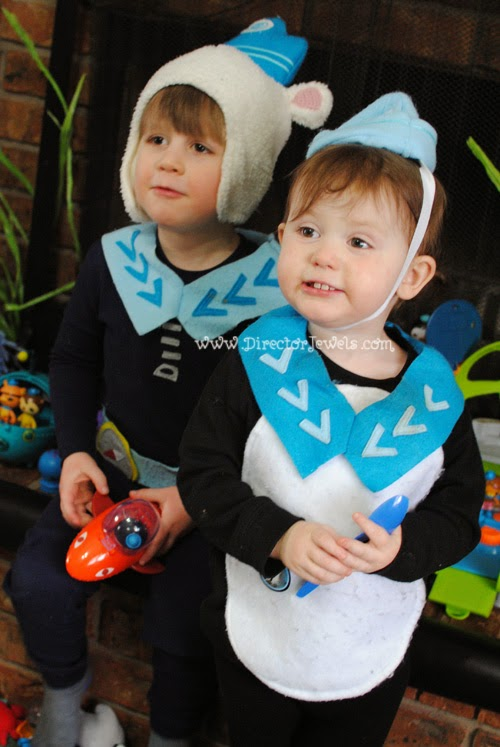 Octonauts Costumes and Birthday Party Decoration Ideas | Under the Sea Decor at directorjewels.com