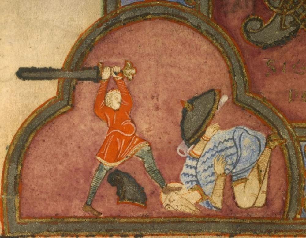 6ef71d6127 die diebgasse  Wczesnośredniowieczny pikowany rękaw