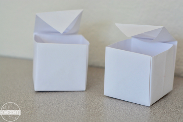 make a box paper craft