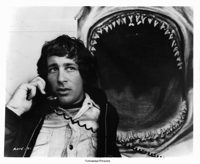 jaws steven spielberg shark poster phone