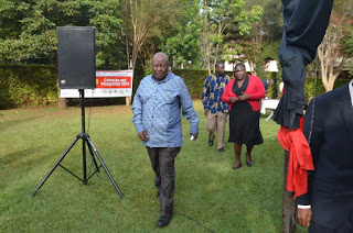 NCIC chairman Ole Kaparo in Eldoret for a past function. PHOTO Courtesy