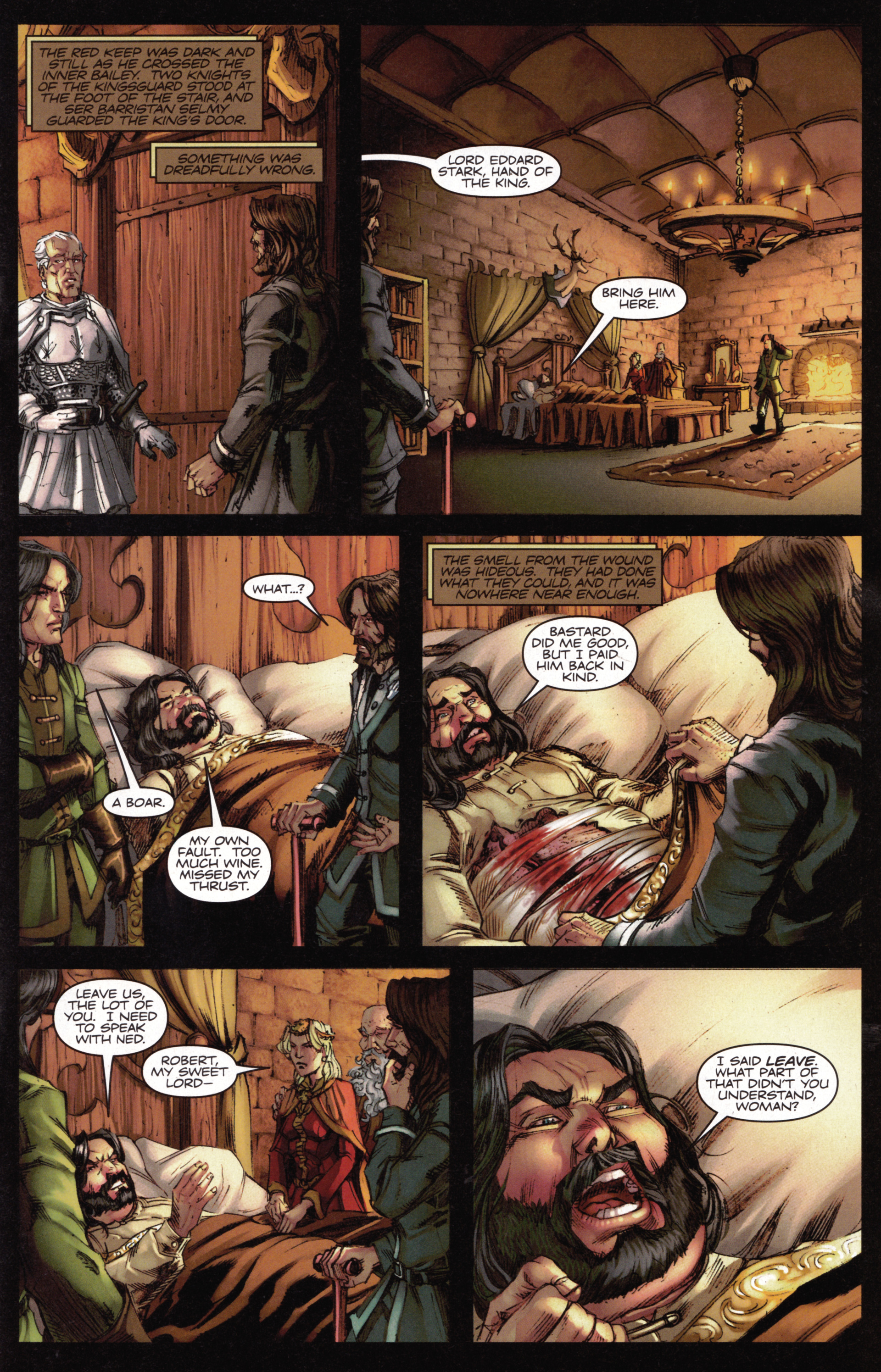 Read online A Game Of Thrones comic -  Issue #15 - 13