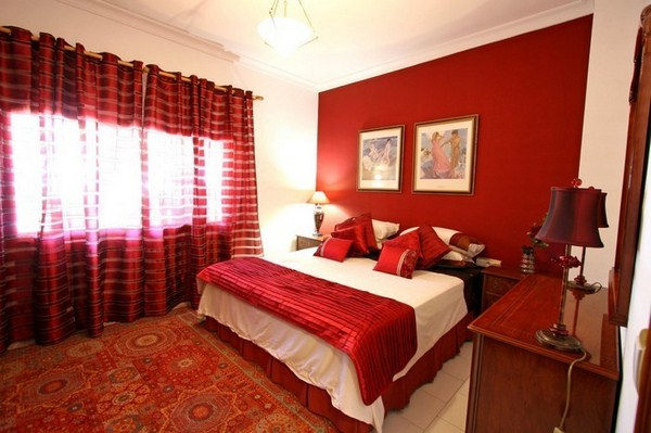 Red Bedroom Design A Cool Interior