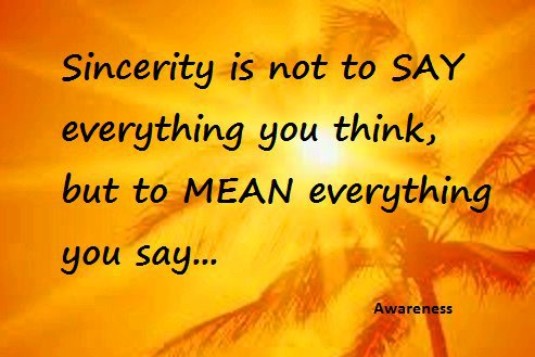 He importance of honesty in the