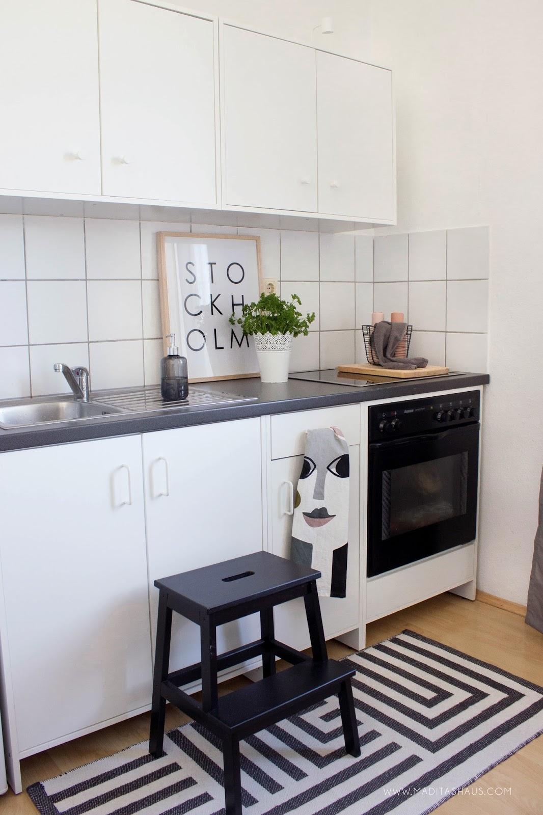 Kleine Küche mit wenig Budget einrichten Teil 2 | Maditas Haus ...