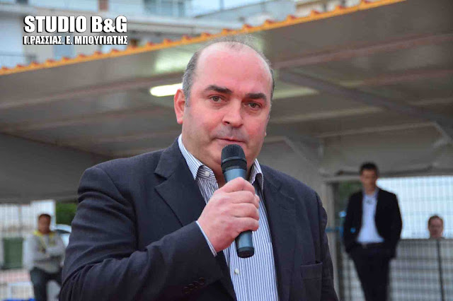Βασίλης Σιδέρης: Συγχαρητήρια στο 1ο ΕΠΑΛ Άργους και στο 1ο Ε.Κ. Άργους